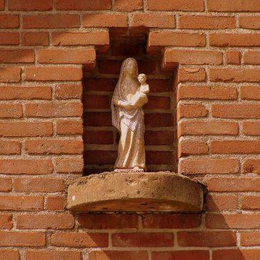 4. Mariabeeld, boerderij Enkman, Ootmarsumsestraat, Tilligte