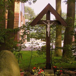 13. Landkruis aan de Bentheimerdijk in de Mekkelhorst bij Beuningen