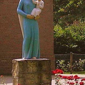 18. Mariabeeld aan de Beuningerstraat in Beuningen