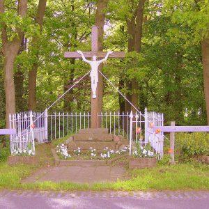 24. Landkruis aan de Linderdijk in Volthe