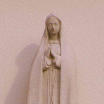 69. Mariabeeld aan gevel, Hoofdstraat, Zenderen
