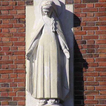 79. Mariabeeld aan gevel, Hooidijk, Vasse