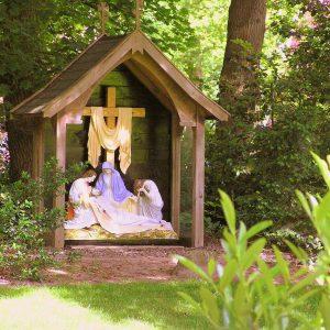 88. Mariakapel in tuin pastorie aan de Vriezenveenseweg in Geesteren